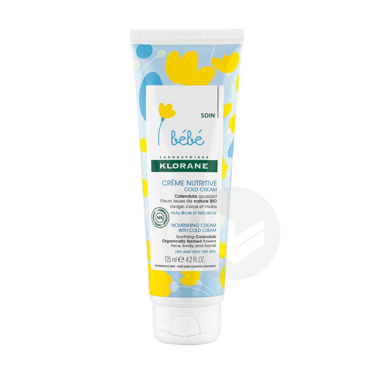 Crème nutritiveauCold Creamet Calendula125ml