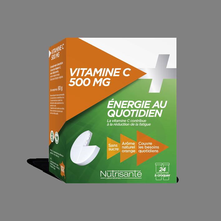 Vitamine C 500 Mg 24 Comprimes A Croquer