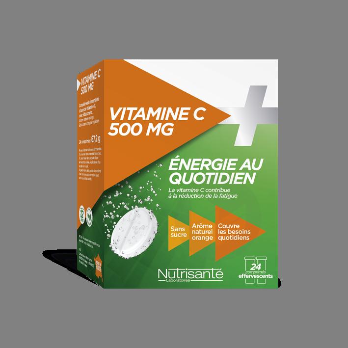Vitamine C 500 Mg 24 Comprimes Effervescents