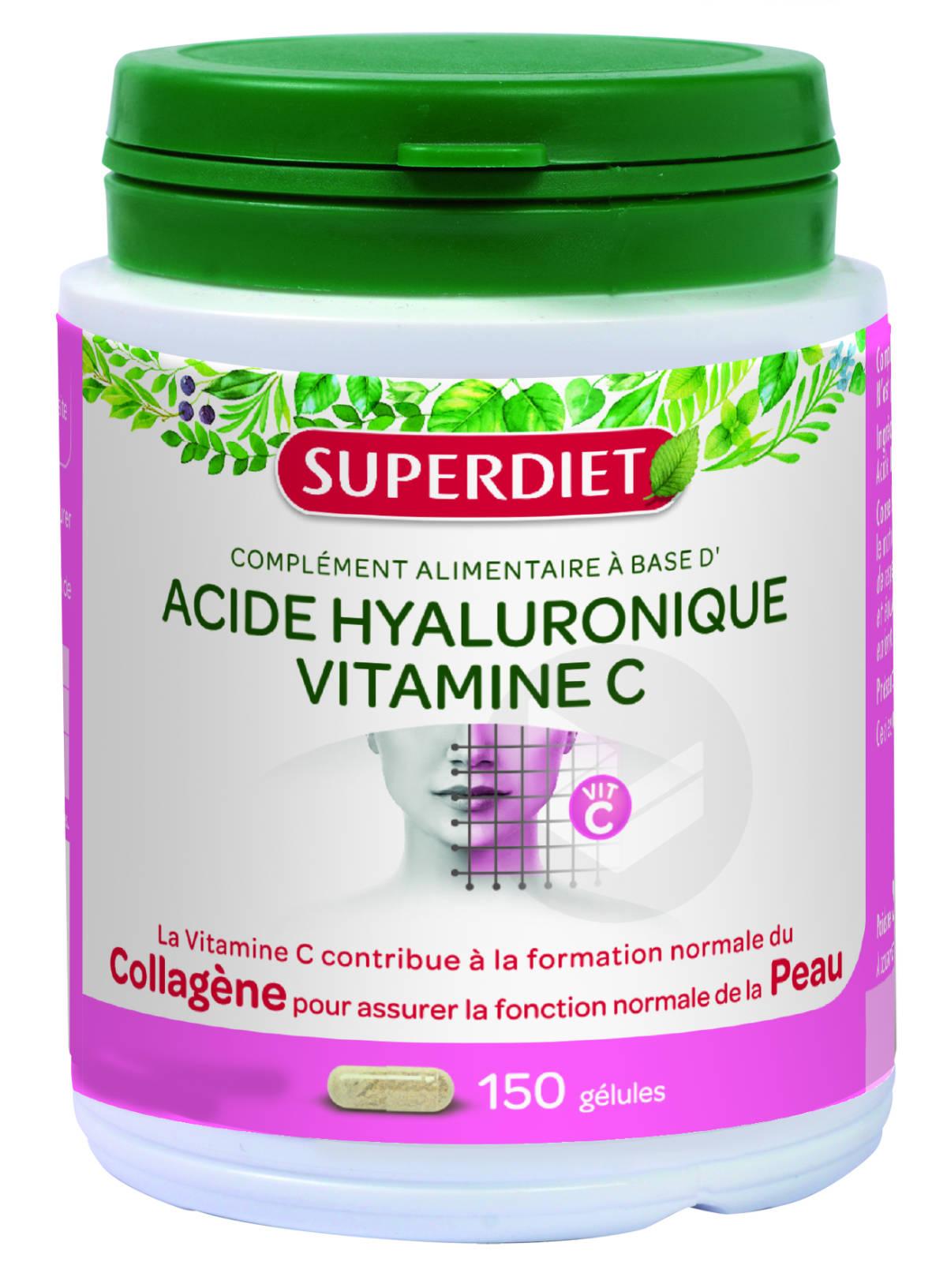 Acide Hyaluronique Vitamine C 150 Gelules