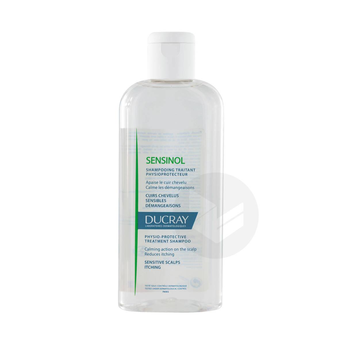 Shampooing physioprotecteur anti-démangeaisons cuir chevelu irrité 200ml