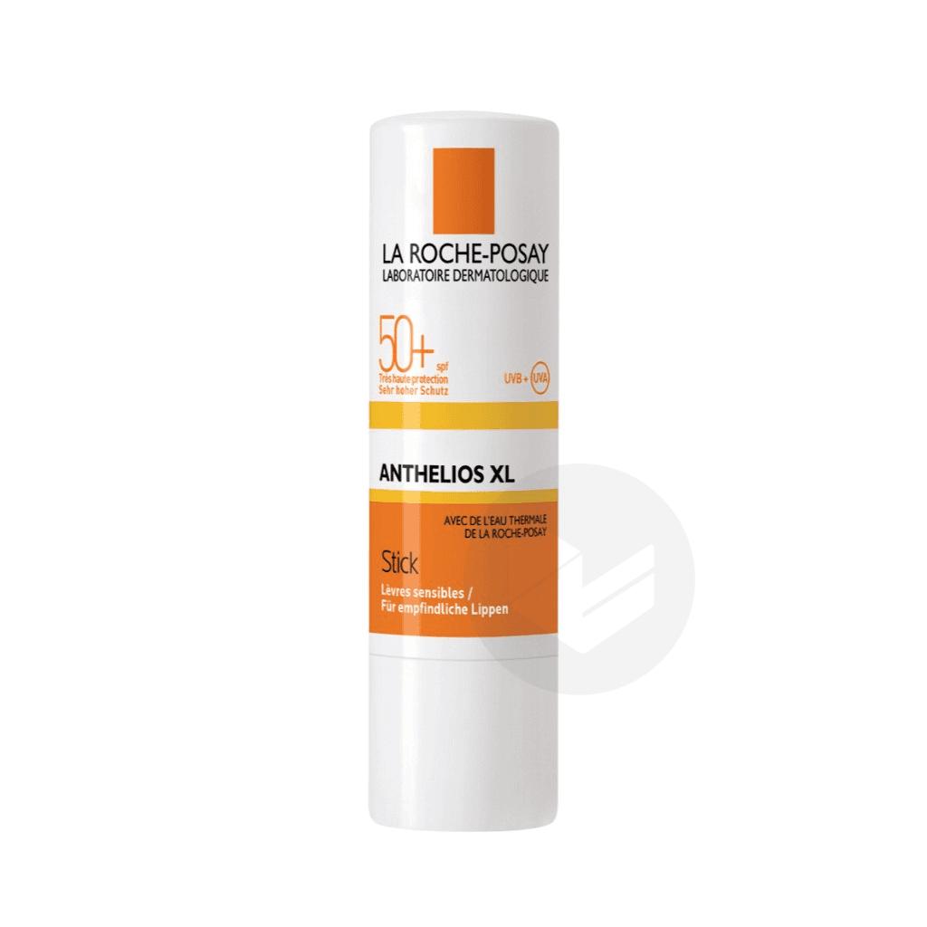 Anthelios Crème Solaire en Stick Lèvres Visage SPF50+ Avec Parfum 4,7ml