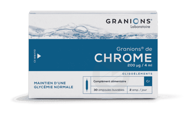 De Chrome 200 G J 30 Ampoules
