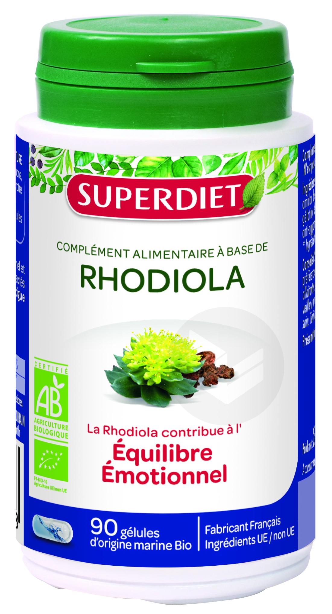Rhodiola Bio 90 Gelules