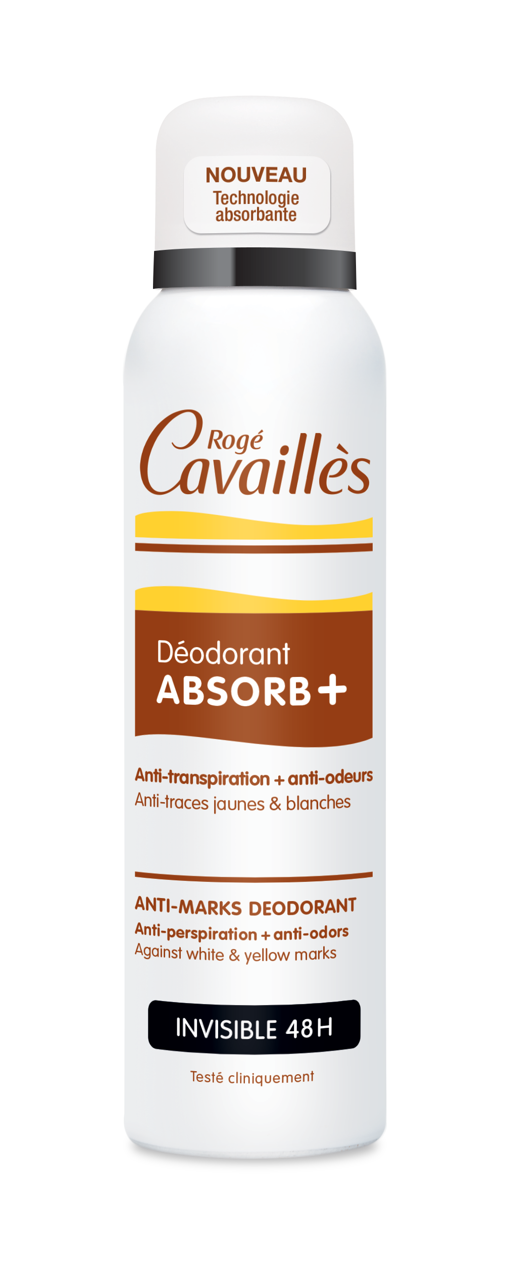 Deodorant Absorb Invisible Spray 150 Ml