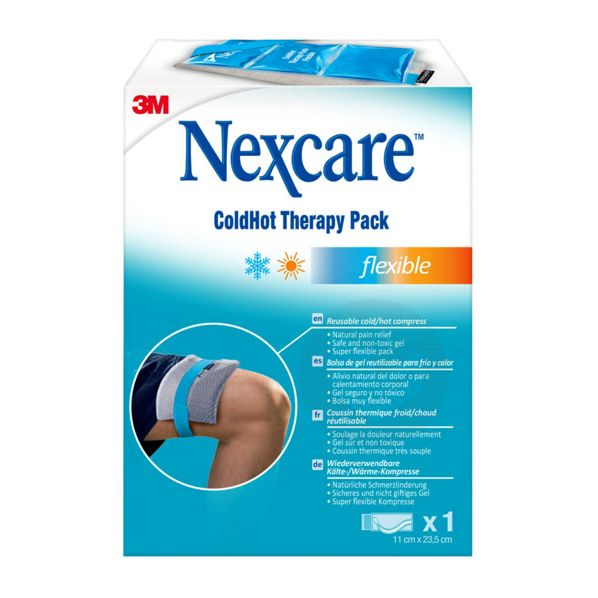 Coussins thermiques Nexcare ColdHot flexible