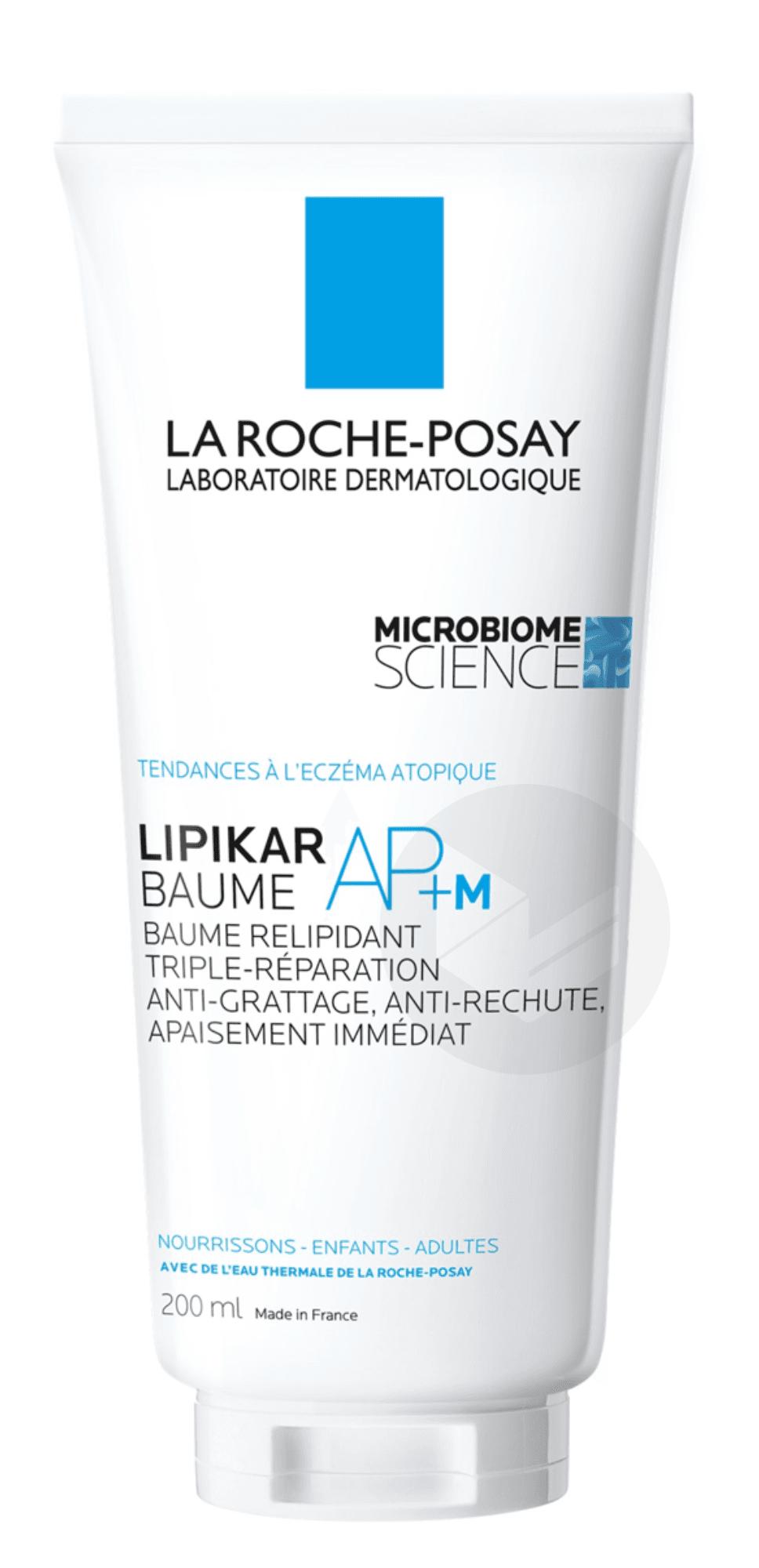 Lipikar Baume AP+ relipidant anti-irritation anti-grattage 200ml