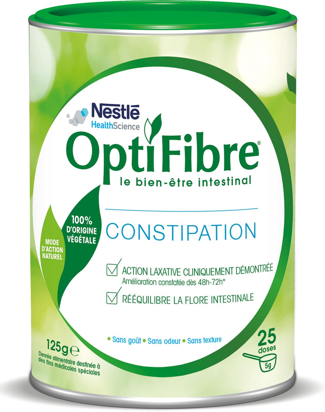 OptiFibre contre la constipation 125g