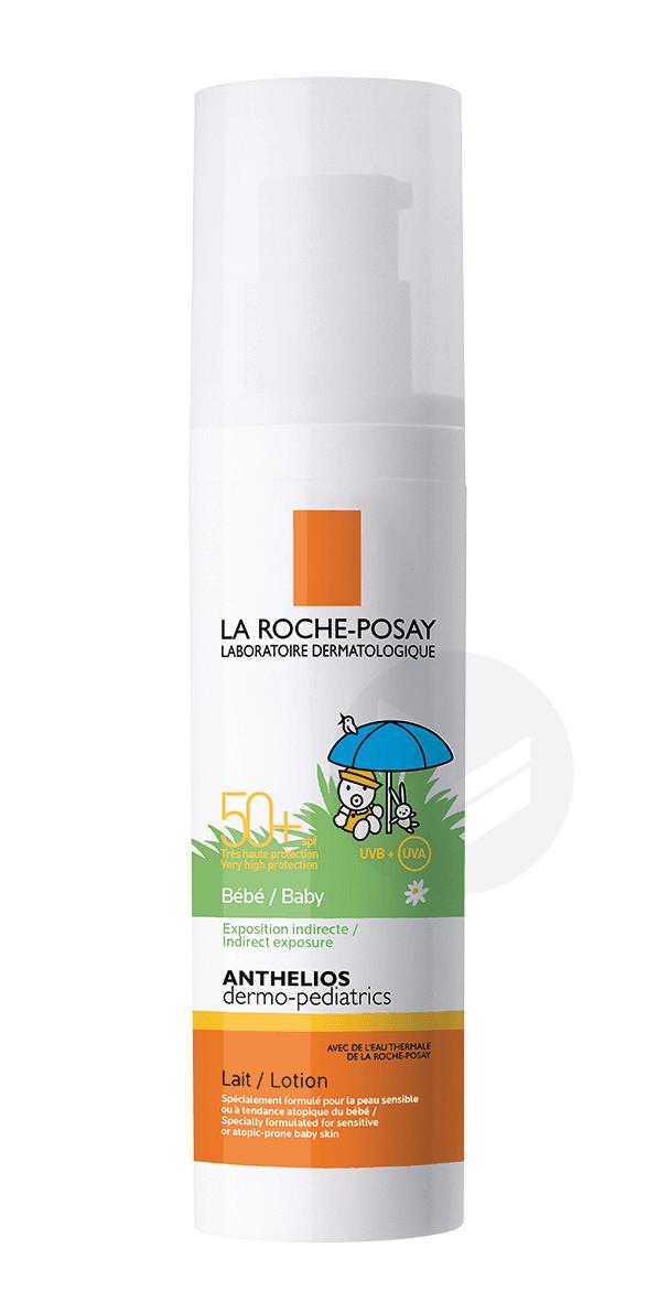 Crème Solaire en Lait Bébé Dermo-Pediatrics SPF50+ Sans Parfum 50ml