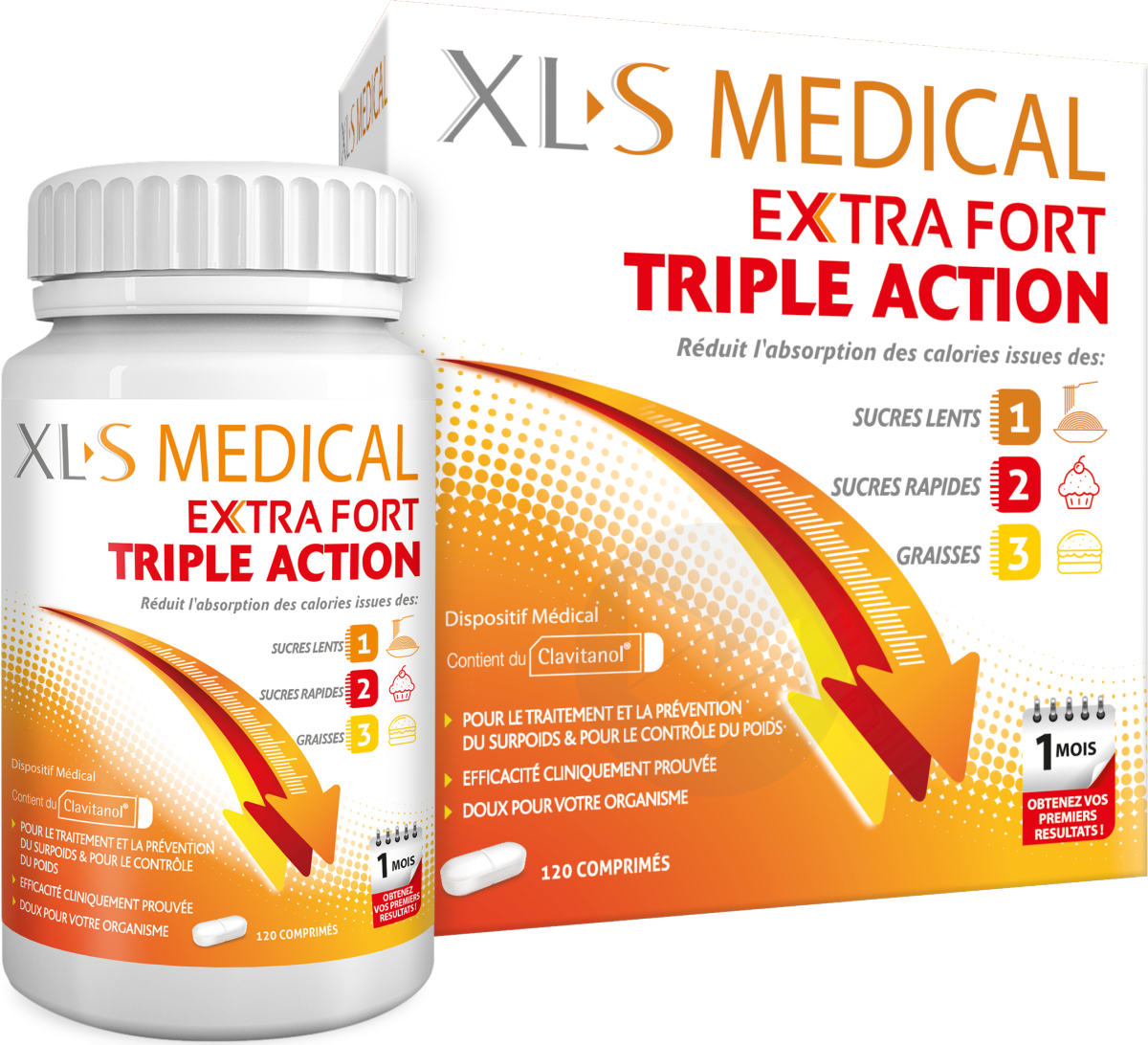 Xl S Medical Extra Fort 120 Comprimes