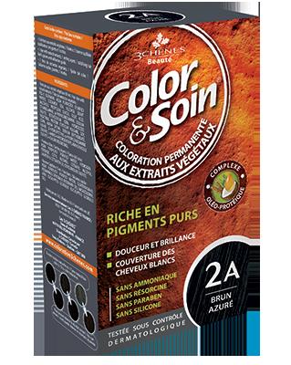 Color Et Soin Coloration Permanente Brun Azure 2 A