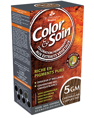 Color Et Soin Coloration Permanente Chatain Clair Cappuccino 5 Gm