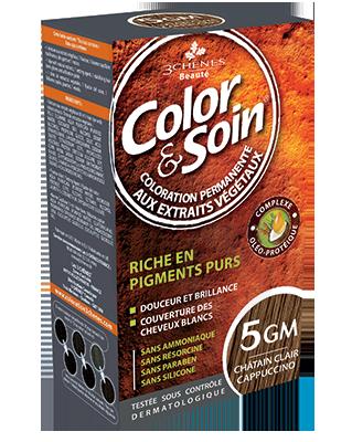 Color et Soin coloration permanente  Châtain Clair Cappuccino 5GM