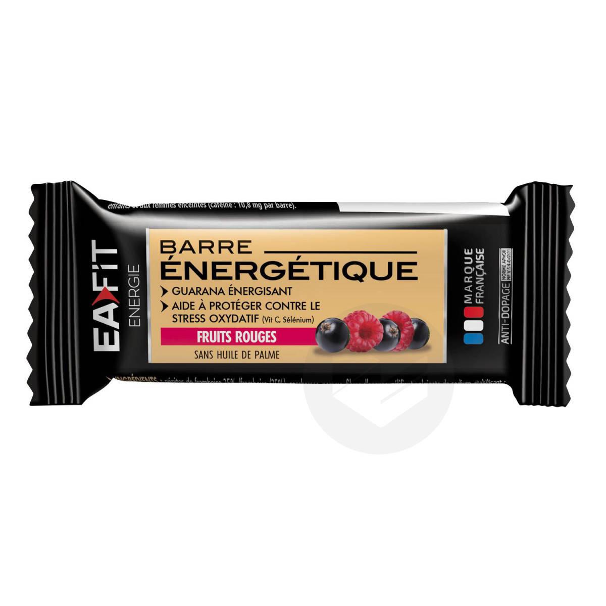 BARRE ENERGETIQUE Fruits Rouges  30g