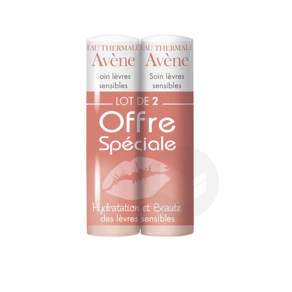 Stick Lèvres Hydratant Protection Quotidienne 2x4g