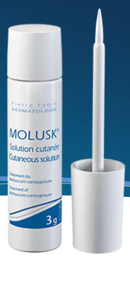 Molusderm Sol Cutanee Traitement Du Molluscum Contagiosum Fl Appl 3 G