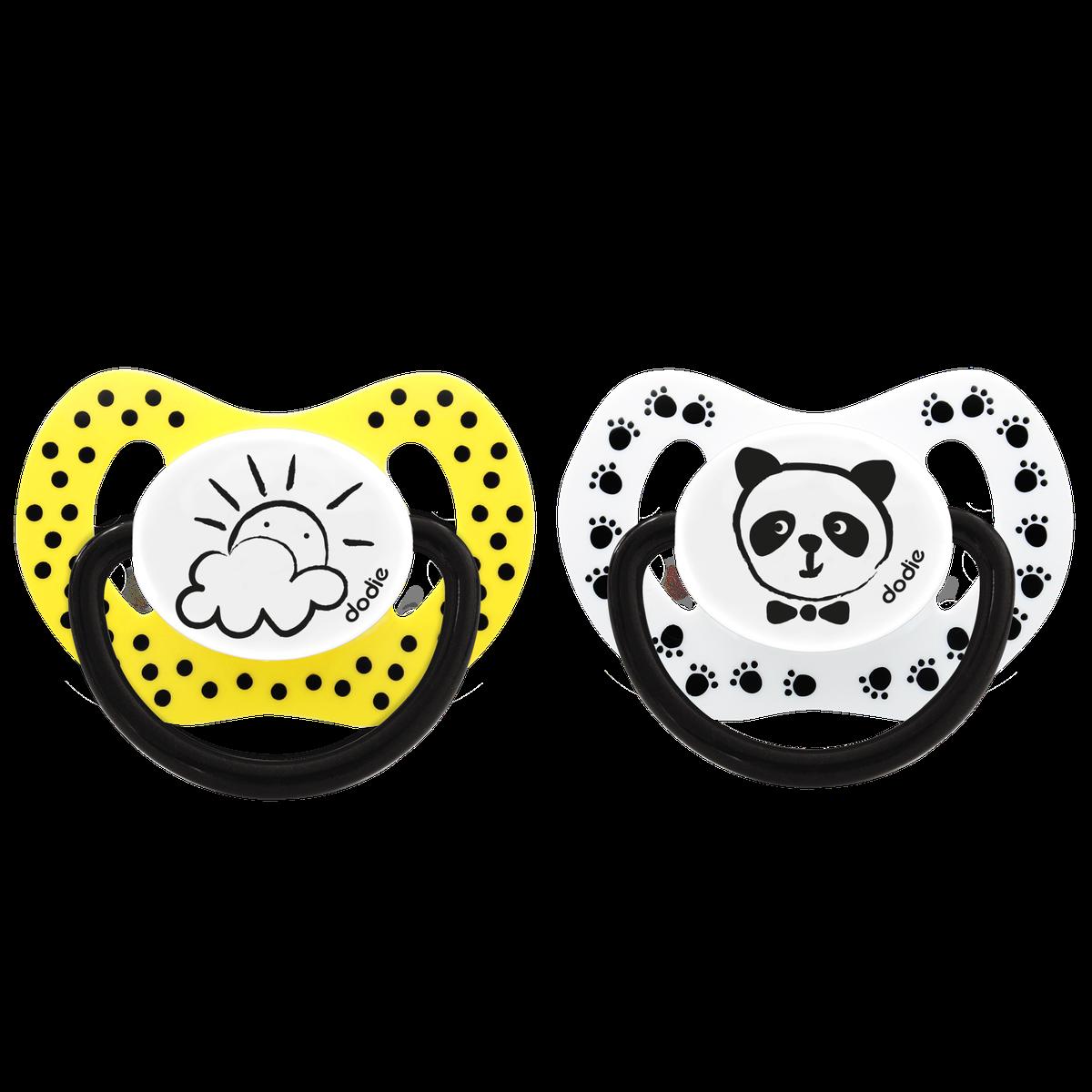 Sucette 0 6 Mois Physio Panda Soleil P 33