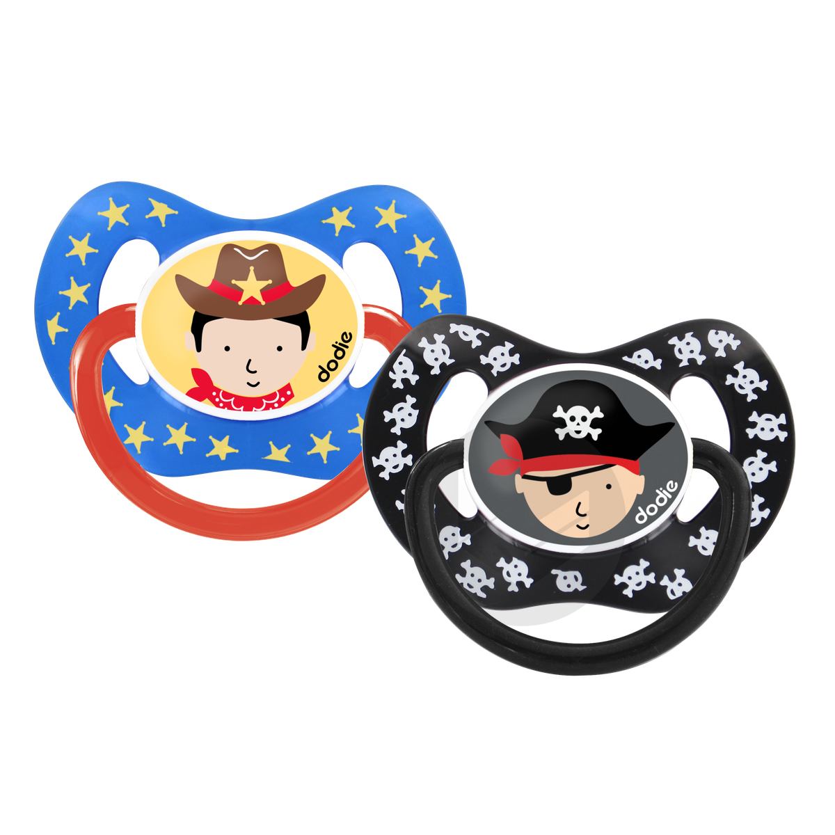 Sucette +18 mois DUO PHYSIO PIRATE/COWBOY  P50