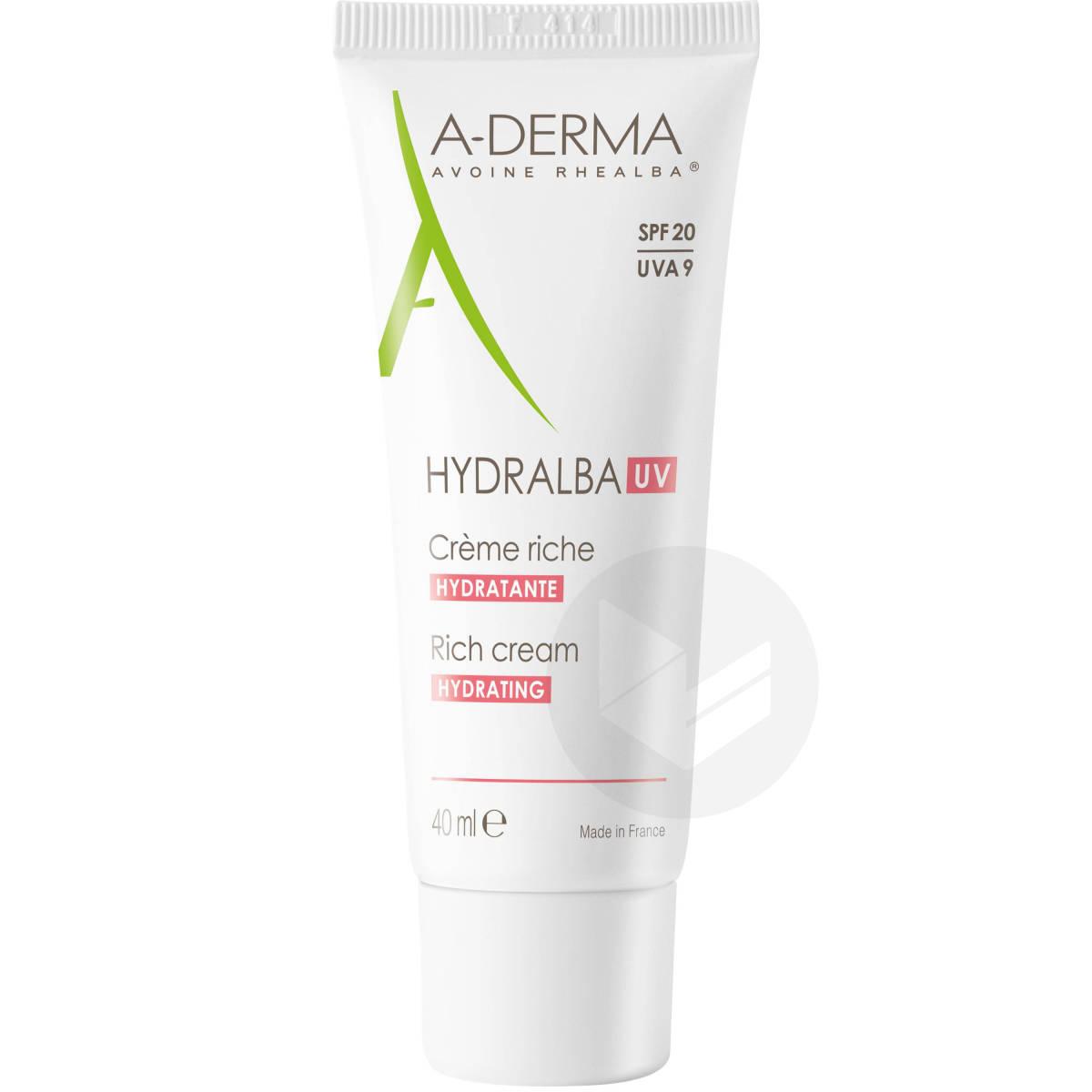Crème visage riche hydratante SPF20 40ml