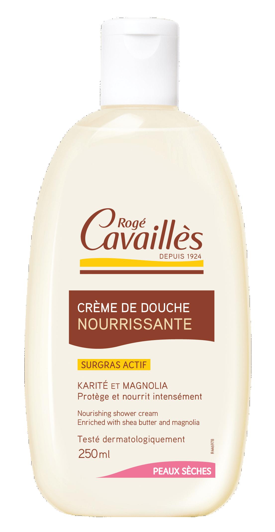 Creme De Douche Nourrissante Beurre De Karite Magnolia 250 Ml