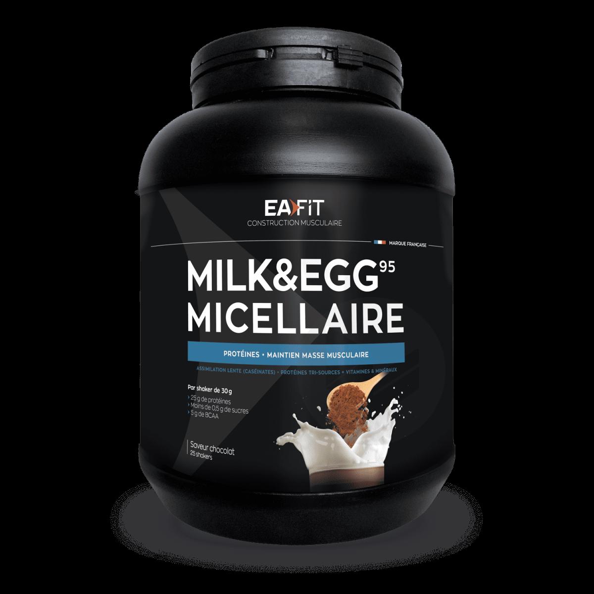 Milk Egg 95 Micellaire Chocolat 750 G
