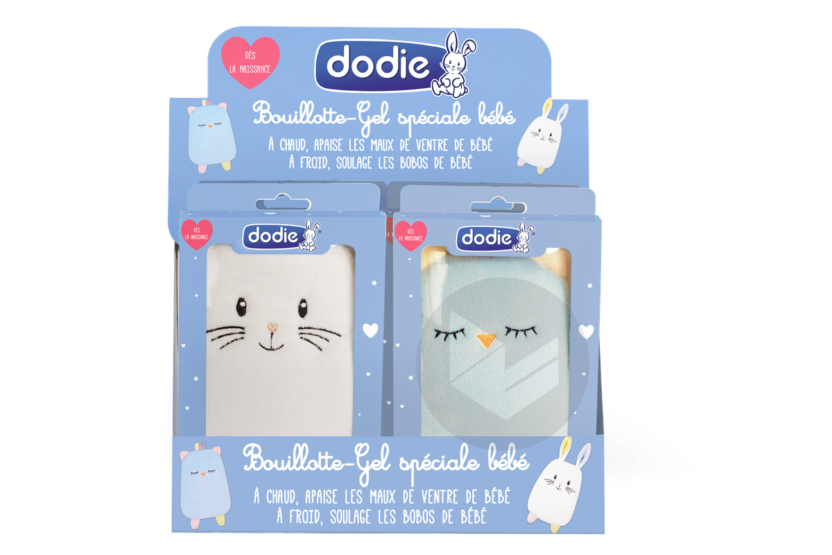 Bouillotte Gel Speciale Bebe Chouette Lapin