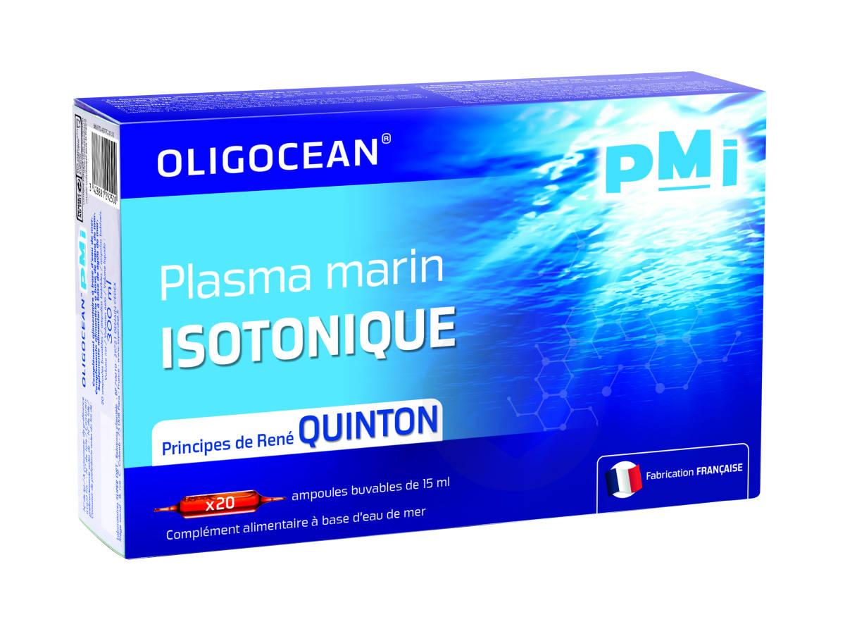 Pmi Plasma Marin Isotonique 20 Ampoules De 15 Ml