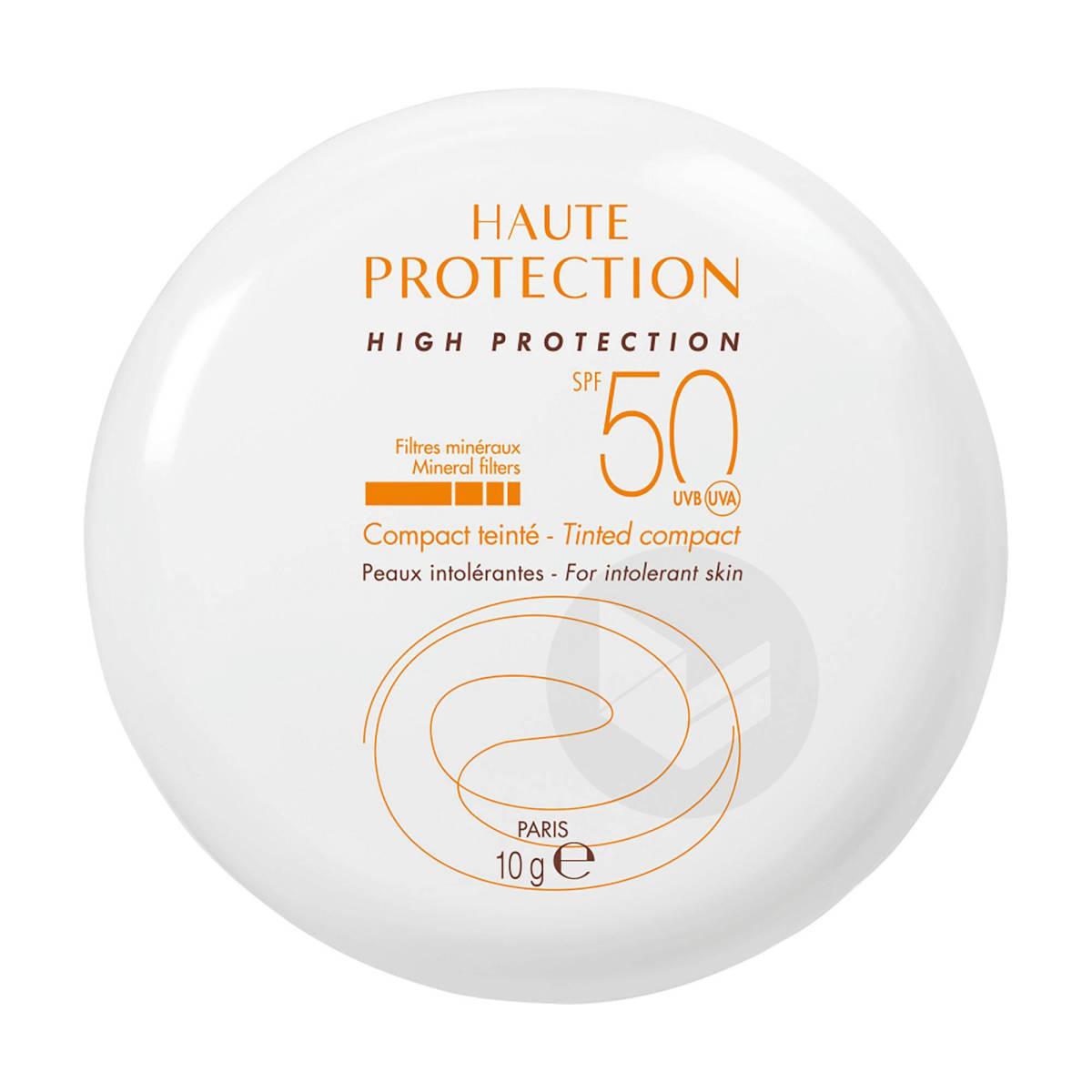 Haute Protection Compact Teinté Doré SPF50 10g