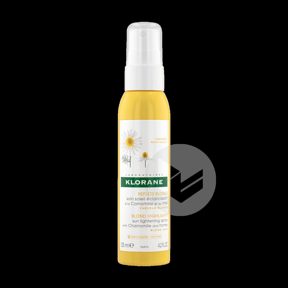 Soin Soleil Spray Éclaircissant Reflets Blonds à la Camomille 125ml
