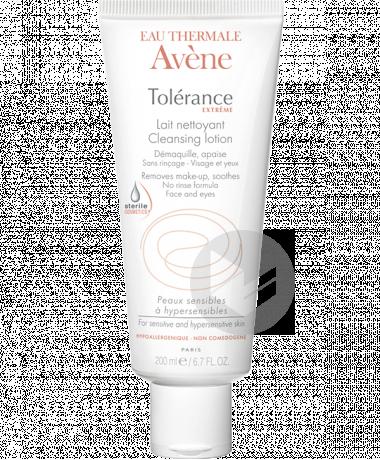 TOLERANCE EXTREME Lait nettoyant cosmétique stérile T/200ml