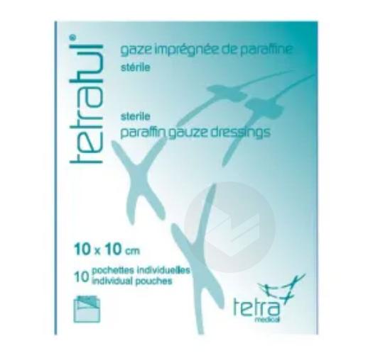 Pans Sterile Gras 10 X 10 Cm B 10