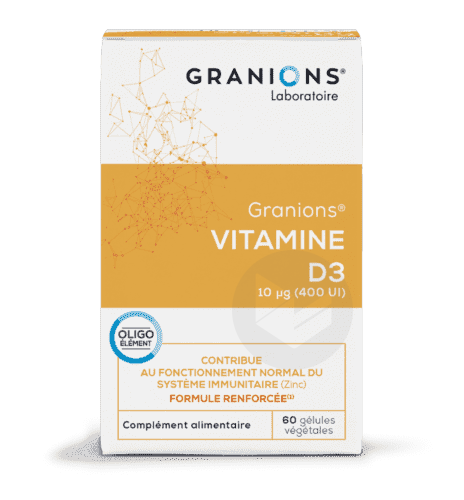 Vitamine D 3 10 G 60 Gelules