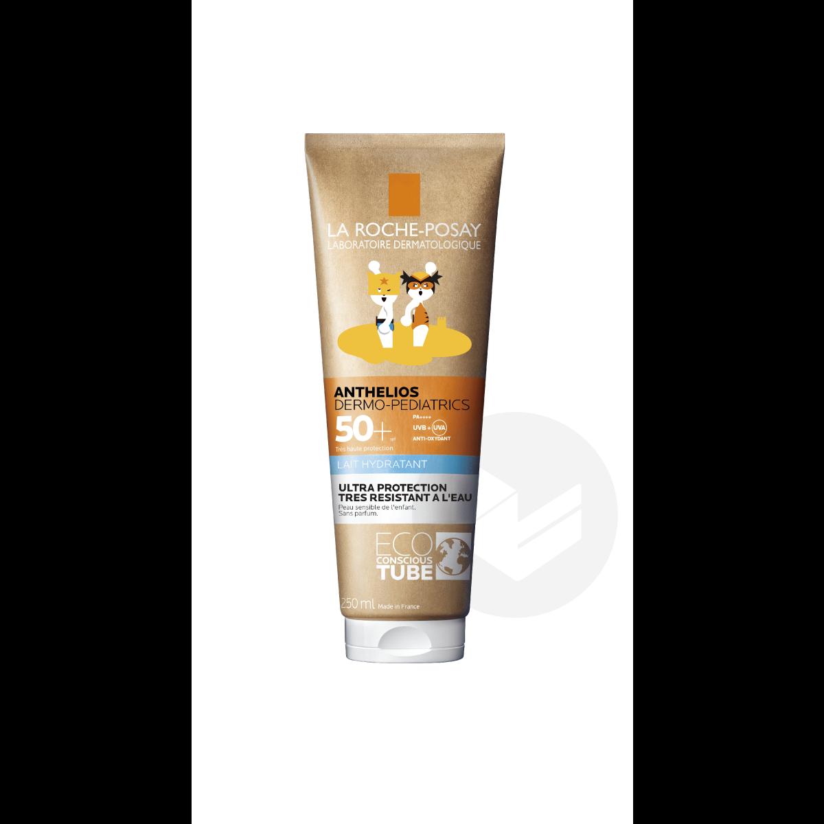 Crème Solaire en Lait Hydratant Enfant Dermo-Pediatrics SPF50+ Sans Parfum 250ml