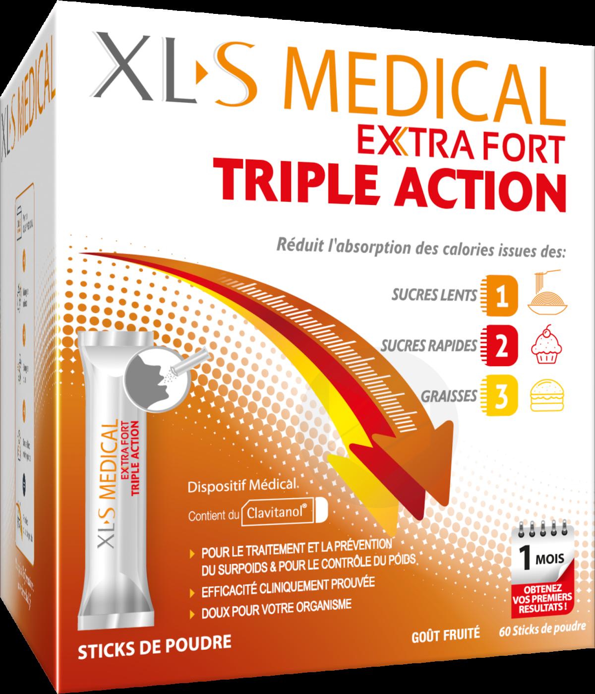 XL-S Medical Extra Fort 60 sticks