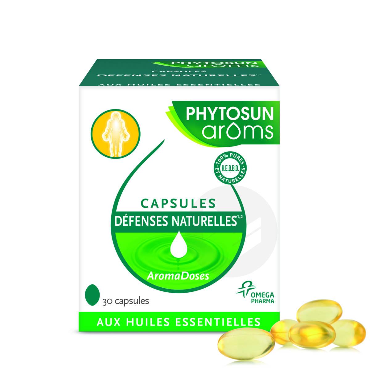 Capsules defenses naturelles1,2 aux huiles essentielles x30