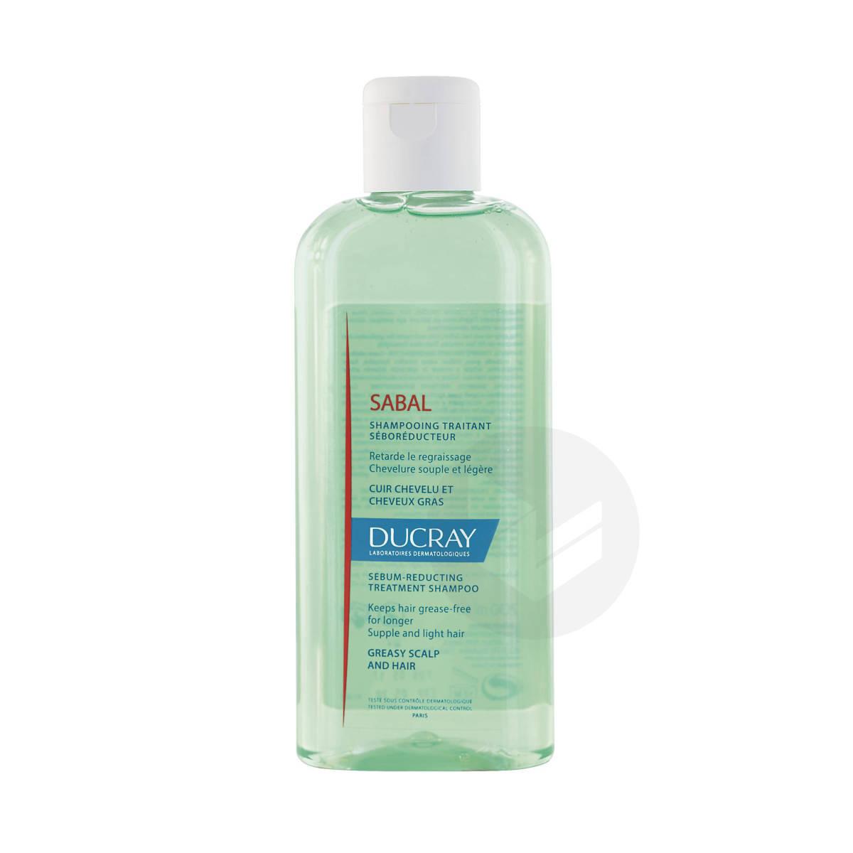 Shampooing traitant séboréducteur purifiant cheveux gras 200ml