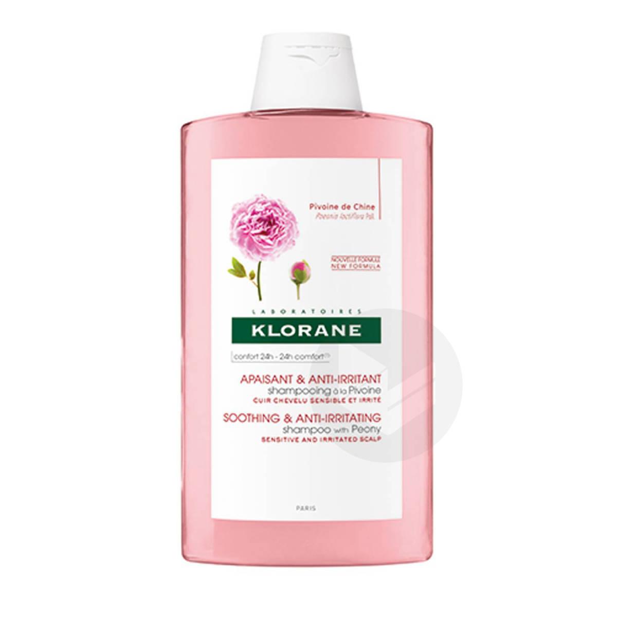 Shampooing Apaisant & Anti-Irritant à la Pivoine 400ml