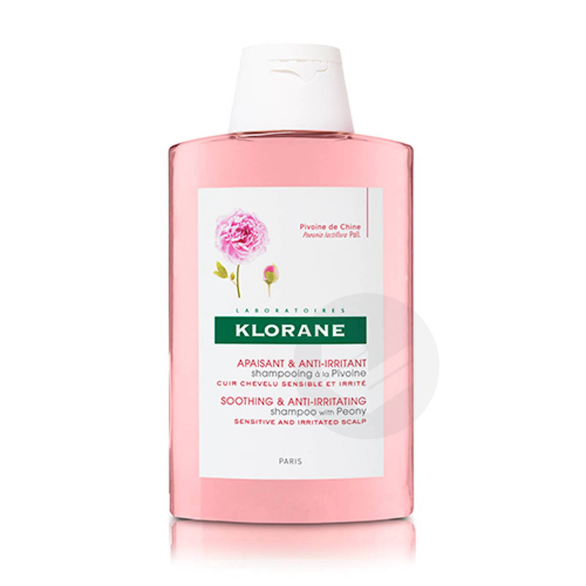 Shampooing Apaisant & Anti-Irritant à la Pivoine 200ml