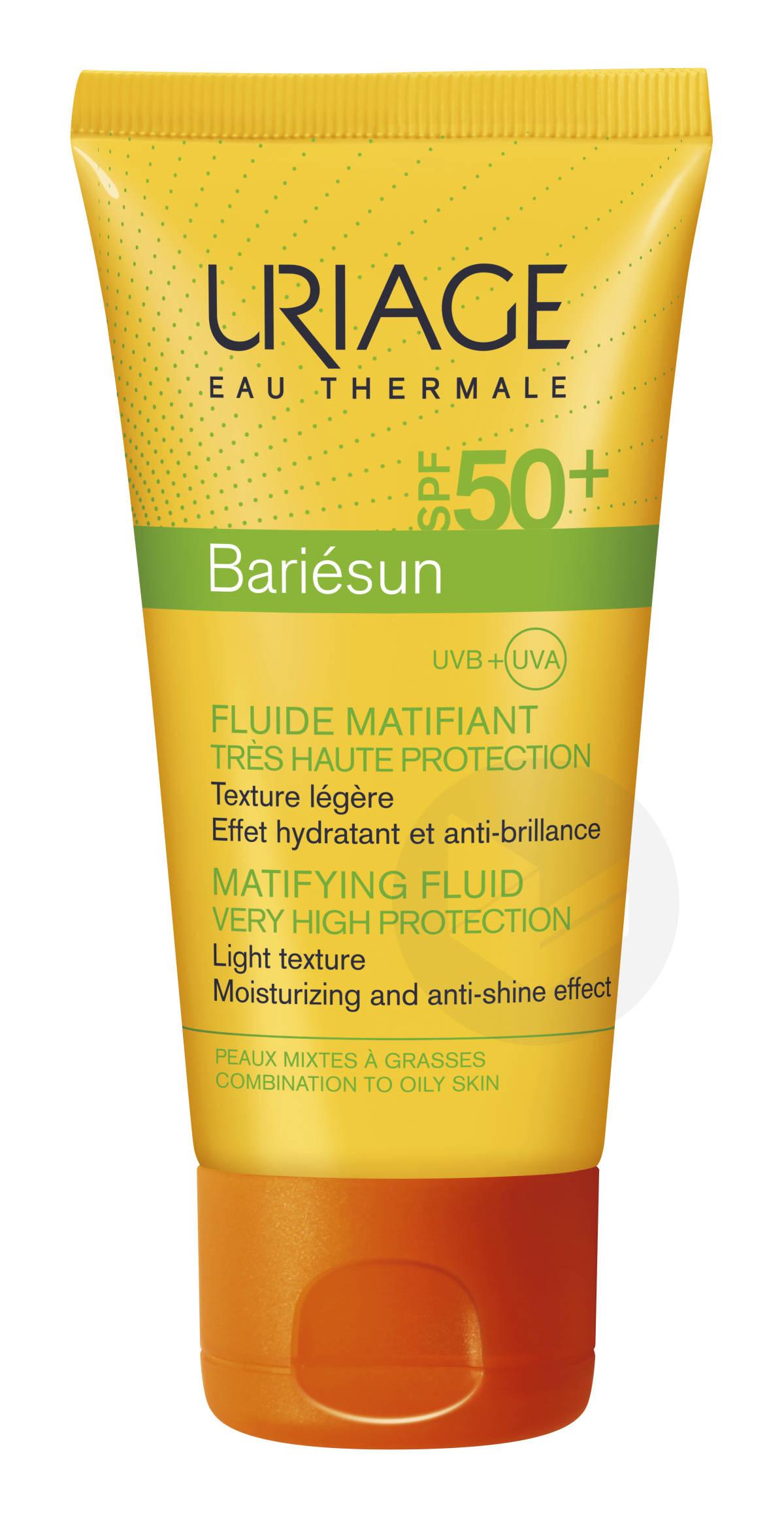 Bariésun Mat fluide SPF50+ 50ml