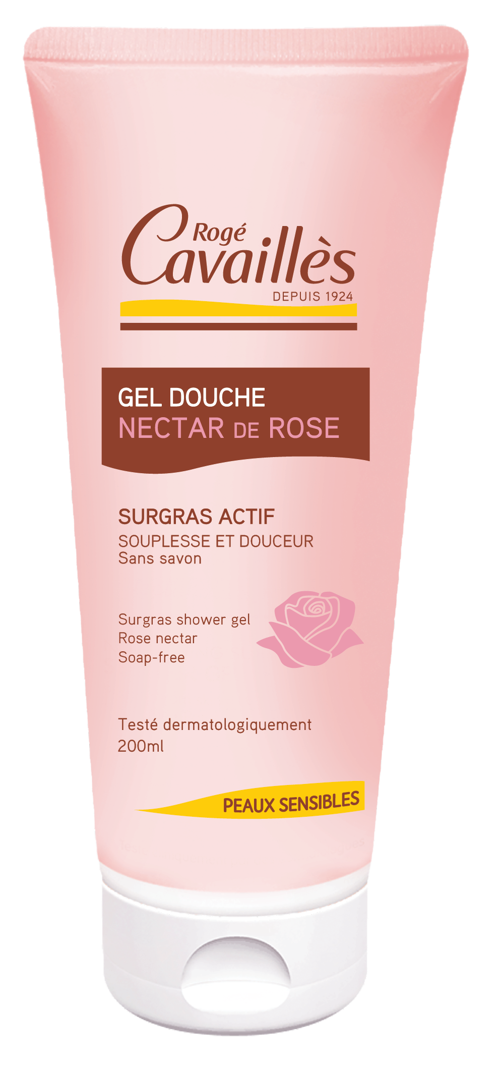Gel Douche Nourrissant Nectar De Rose 200 Ml