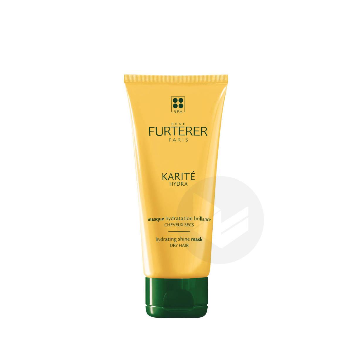 Masque hydratation brillance démélant à l'huile de karité 100ml