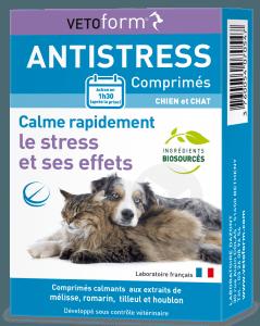 Anti-stress Chiens et Chats 20 comprimés