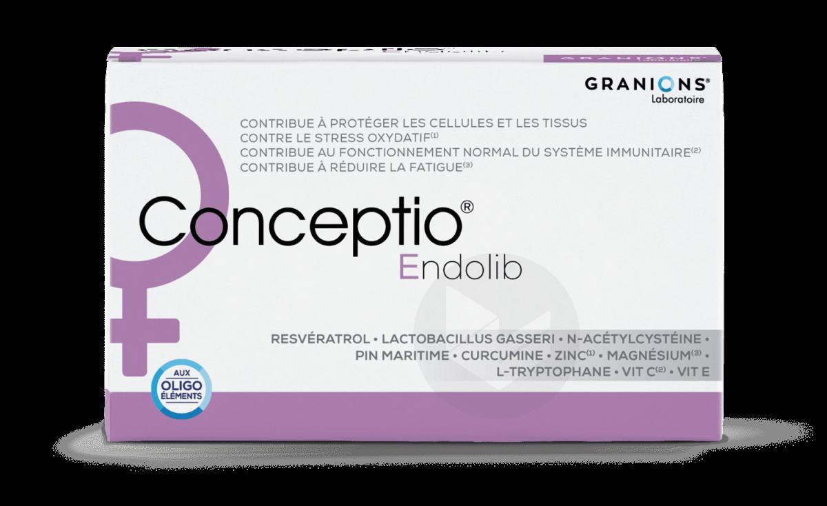 Conceptio Endolib 90 gélules