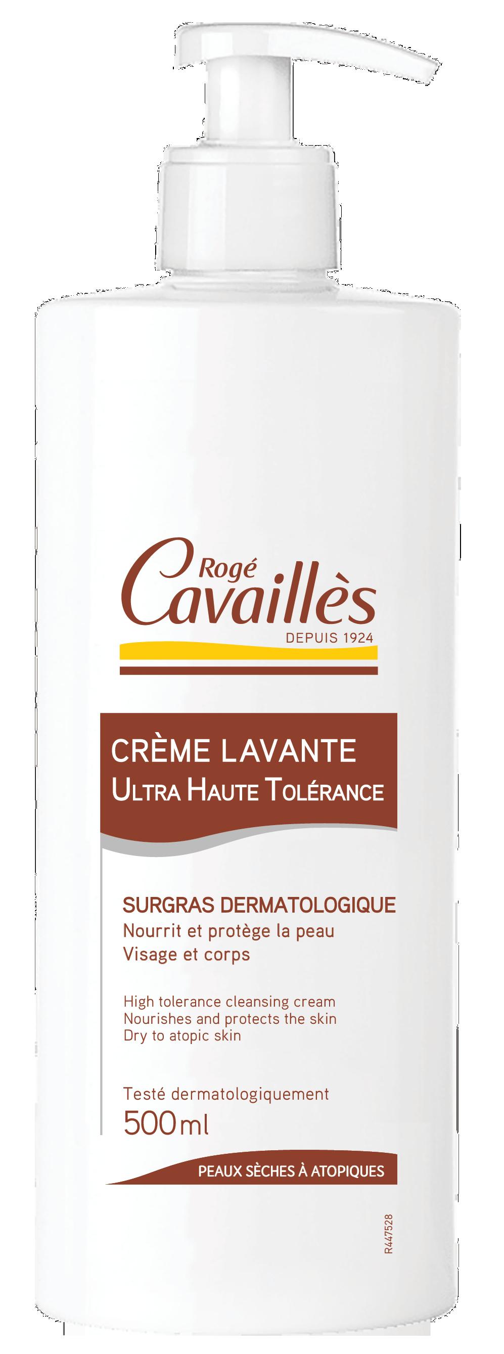 Crème lavante surgras peaux sèches à très sèches 500ml