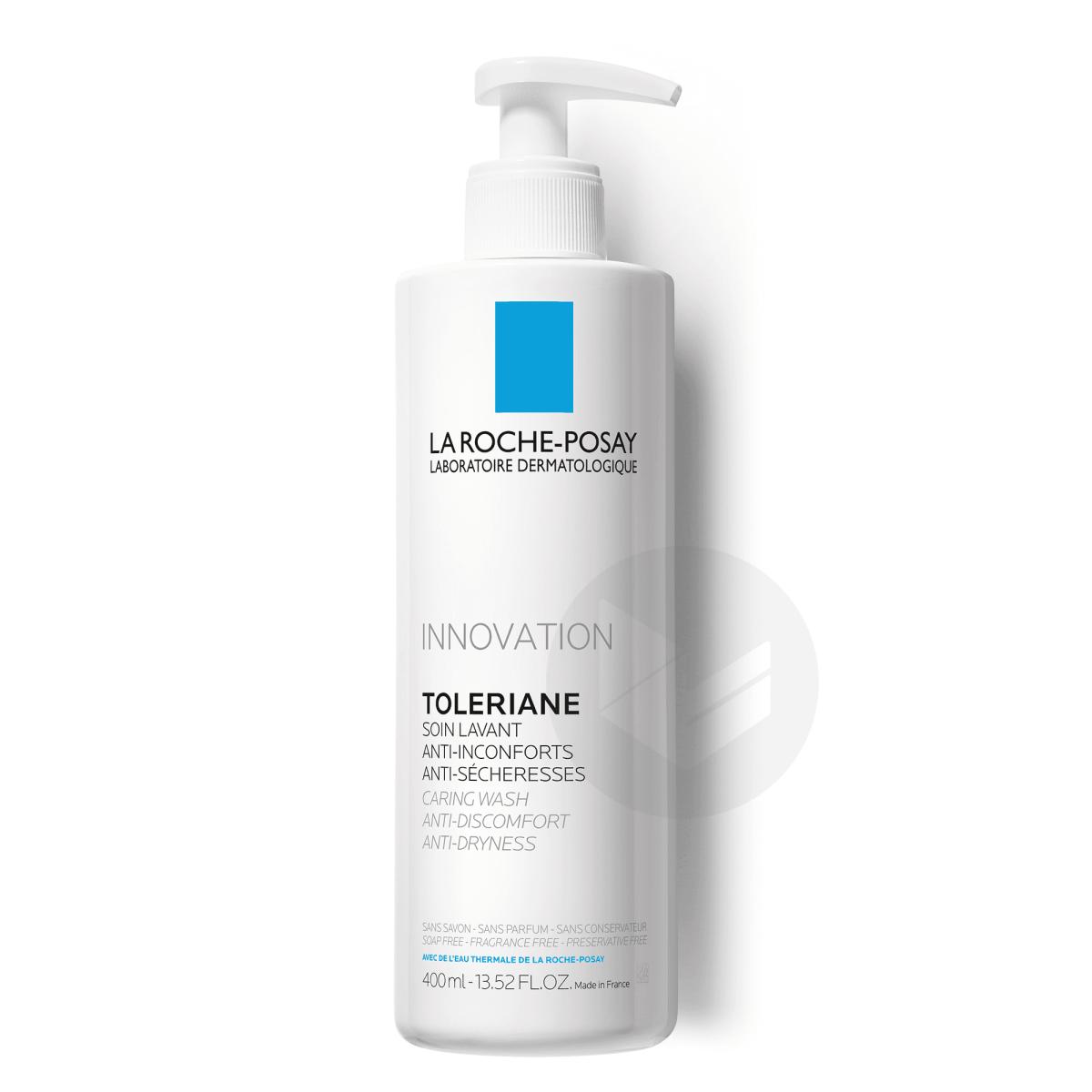 Toleriane Soin lavant visage anti-inconforts et anti-sécheresse 400ml