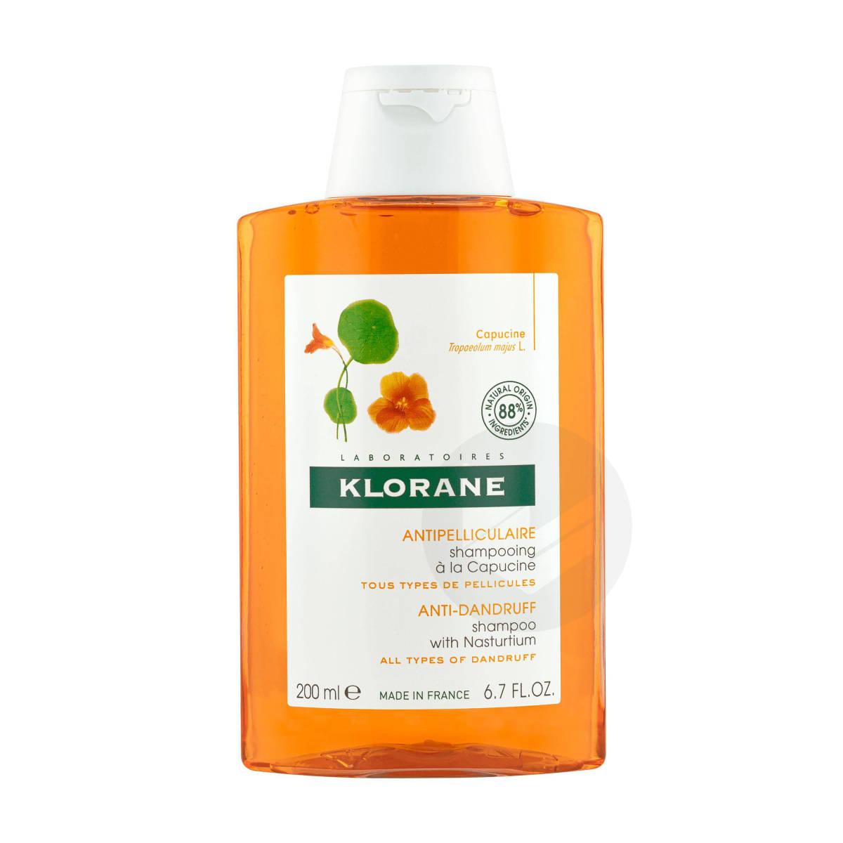 Shampoing Antipelliculaire à la Capucine 200ml
