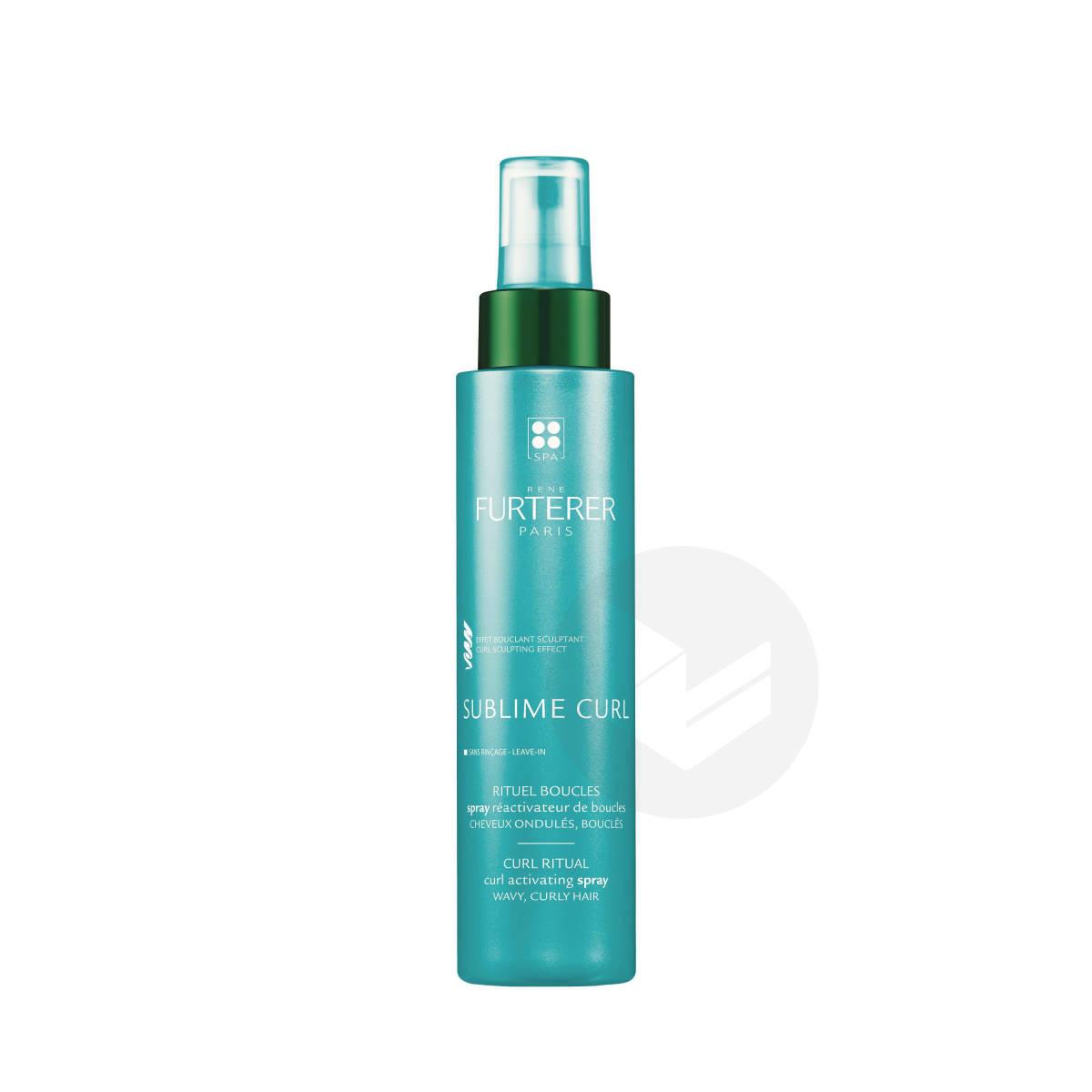 Spray réactivateur de boucles cheveux bouclés 150ml
