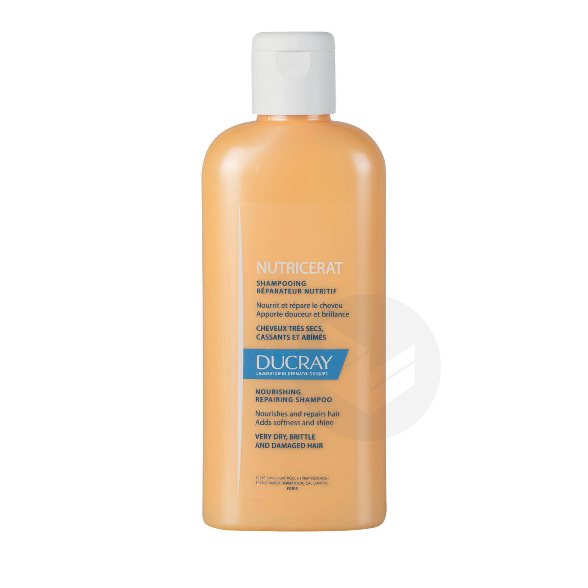 Shampooing réparateur nutritif cheveux secs fragiles et cassants 200ml