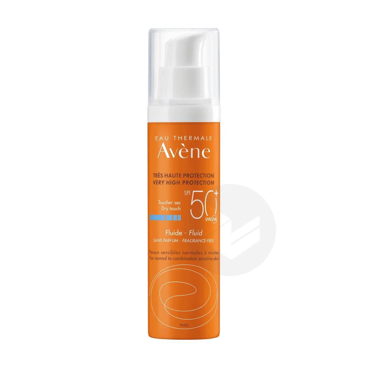 Fluide Sans Parfum SPF50+ Peaux Sensibles 50ml