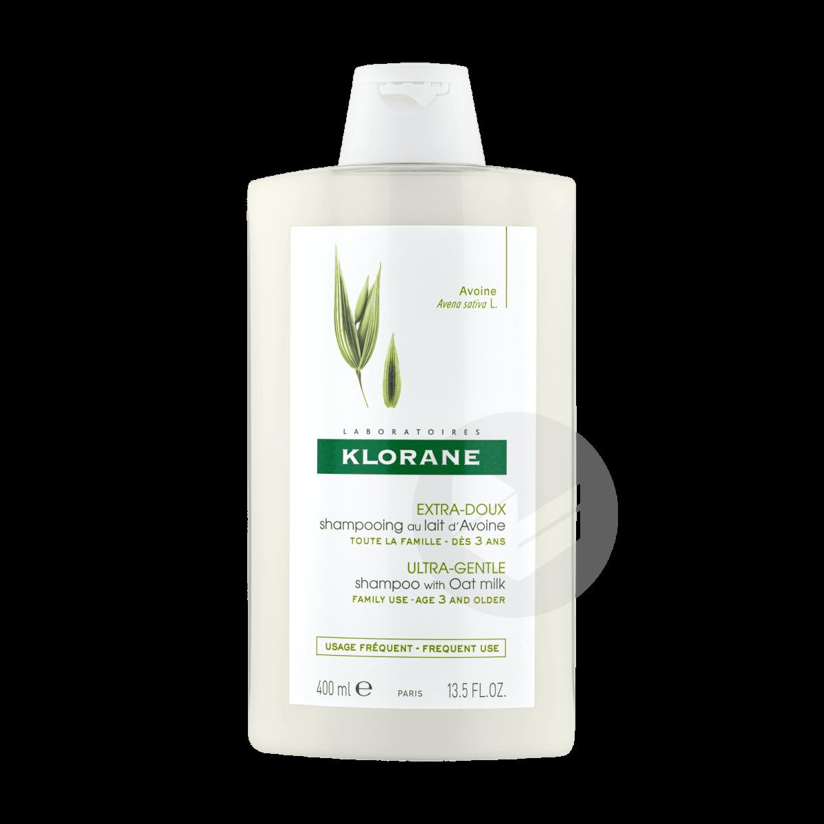 Shampoing Extra-doux au lait d'Avoine 400ml